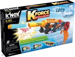 K'nex K-Force Build & Blast Zestaw K-10X