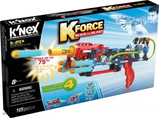 K'nex K-Force Build & Blast Zestaw K-20X