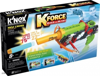 K'nex K-Force Build & Blast zestaw mini kusza